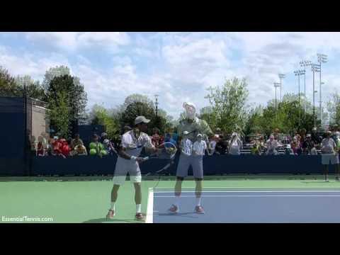 Novak Djokovic Serve in Slow Motion with Sound, HD
