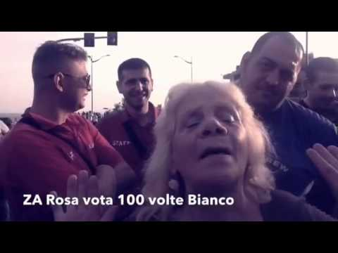 """CRONACHE CATANESI: """"WHITE'S BAND"""" E LA LITANIA DEL """"METODO MAFIOSO"""". E """"A ZA ROSA"""" FECE LO """"SPOT ELETTORALE"""" PER BIANCO! MA IL VOTO DELLA SUOCERA DI UN """"CARCAGNUSU"""" VA BENE LO STESSO?"""
