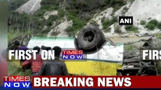 Several Feared Dead As Bus Plunges Into 300 Metre Gorge In Himachal Pradesh - TIMESNOWONLINE