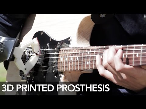 3D printed prosthesis to play the guitar