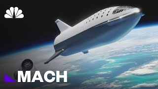 SpaceX Says Fashion Tycoon Will Ride A Rocket Around The Moon | Mach | NBC News - NBCNEWS