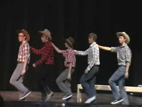 "Grand Ledge High School 08'  Footloose ""MAMA SAYS"""