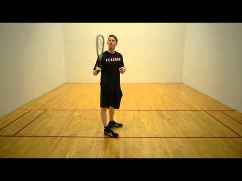 Four Types of Racquetball Lob Serves: Part 3 - The Knick Lob