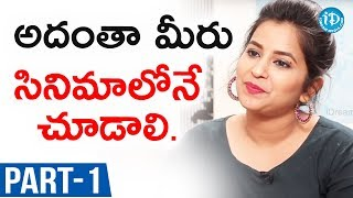 Actress Komali Exclusive Interview - Part #1 || Talking Movies With iDream - IDREAMMOVIES