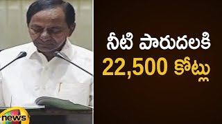 CM KCR Announced 22,500 Crores Budget For Irrigation Department | Telangana Budget Session 2019 - MANGONEWS