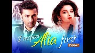 Ranbir Kapoor talks about rumoured girlfriend Alia Bhatt - INDIATV