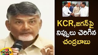 AP Chandrababu Naidu Shocking Comments on CM KCR, YS Jagan | - MANGONEWS