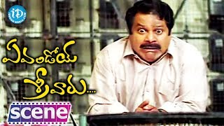 Evandoy Sreevaru Movie - Dharmavarapu, Sunil Best Funny Scene - IDREAMMOVIES