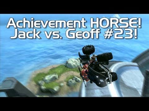 Halo: Reach - Achievement HORSE #23! (Geoff vs. Jack)