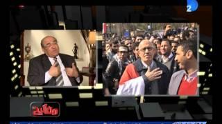 بالفيديو.. مصطفى الفقي يكشف تفاصيل آخر مكالمة مع البرادعي: رجل صادق جدًا | المصري اليوم