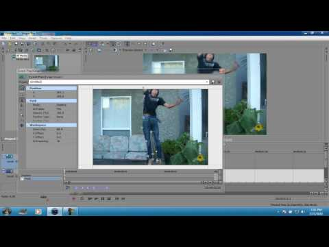 How to Fly in Sony Vegas Pro 9