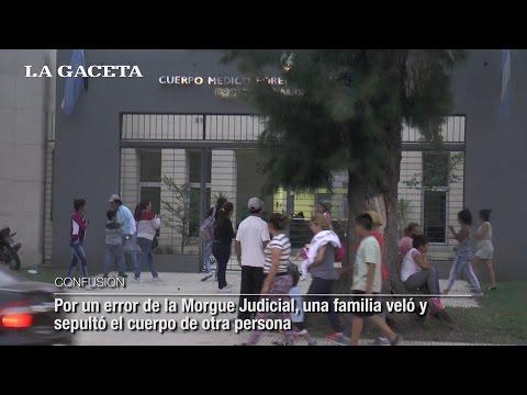 Por un error de la Morgue Judicial, una familia veló y sepultó el cuerpo de otra persona