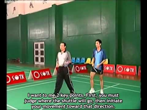 12 Chen Weihua Badminton Training - Jump Smash (English Subtitles)