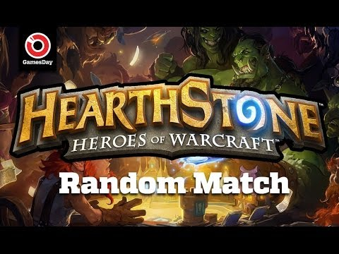 GamesDay Plays Hearthstone!