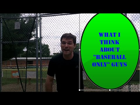 Baseball Batting Tips: Should You Only Play One Sport? Year-round baseball