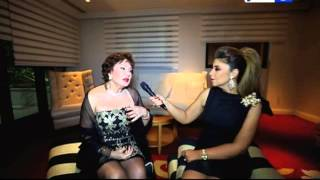 نيللي كريم: الشعب اللبناني بدأ يعرفني من مسلسل وجه القمر مع النجمة فاتن حمامة