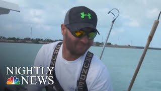 Fishermen Catch Lost Gear In Program Using Ocean Trash For Fuel | NBC Nightly News - NBCNEWS