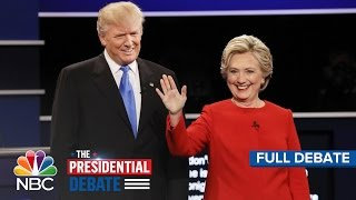 The Presidential Debate: Hillary Clinton And Donald Trump (Full Debate) | NBC News - NBCNEWS