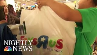 Toys 'R' Us Files For Chapter 11 Bankruptcy Protection | NBC Nightly News - NBCNEWS