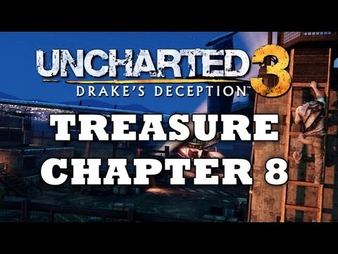 Uncharted 3 Treasure Locations: Chapter 7 [HD]