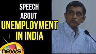 Lok Satta JP Wonderful Speech About Unemployment In India   Future of Graduates   Mango News - MANGONEWS