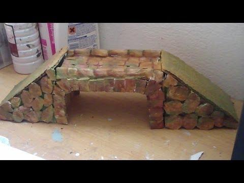 Puente Romano para belenes y maquetas