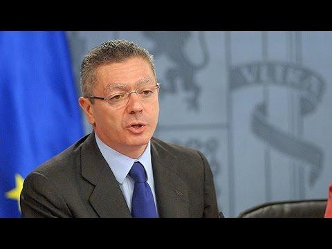 El ministro de Justicia de España dimite tras la retirada de su polémica ley del aborto