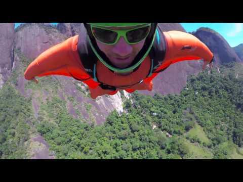 Wingsuit BASE Jumping - Espirito Santos, Brazil