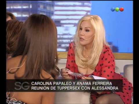 Alessandra Rampolla, Test de la Infidelidad - Susana Gimenez