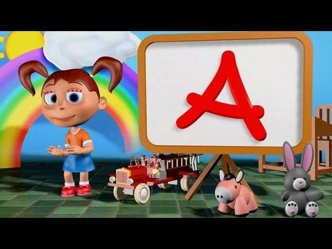 Muffin Songs – ABC Song 3D Tekerlemeler ve İngilizce Çocuk Şarkıları