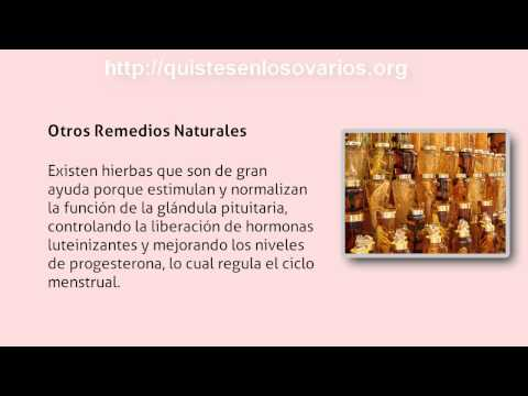 Ovarios Poliquisticos Tratamiento Natural