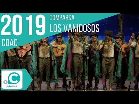 Sesión de Preliminares, la agrupación Los vanidosos actúa hoy en la modalidad de Comparsas.