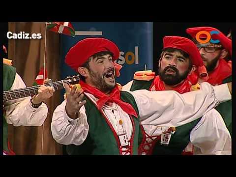 Sesión de Preliminares, la agrupación Lo siento Patxi, pero no todo el mundo puede ser de Euskadi actúa hoy en la modalidad de Chirigotas.