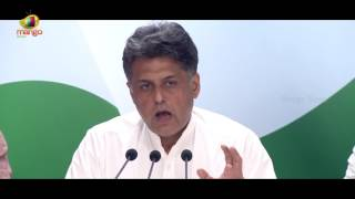 Congress Leader Manish Tewari Corners PM Modi Government Over CRPF Jawans Killing | Kashmir Unrest - MANGONEWS