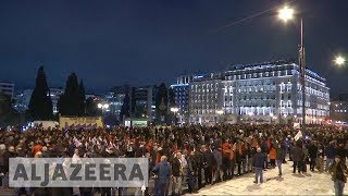 Greek parliament approves more austerity measures in bailout bid - ALJAZEERAENGLISH