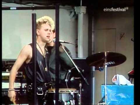 Depeche Mode - People Are People 03-26 1984 live  German TV RARE !!!!