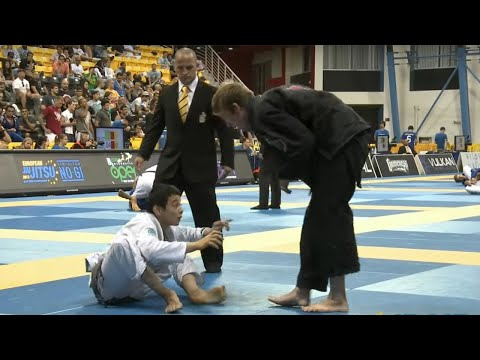 Paulo Miyao vs Keenan Cornelius, 2013 Worlds BJJ -  Brown Belt Open Class Final