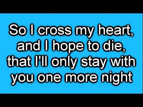 Maroon 5 - One More Night [Lyrics On Screen] HD -88vOaXIeCjM