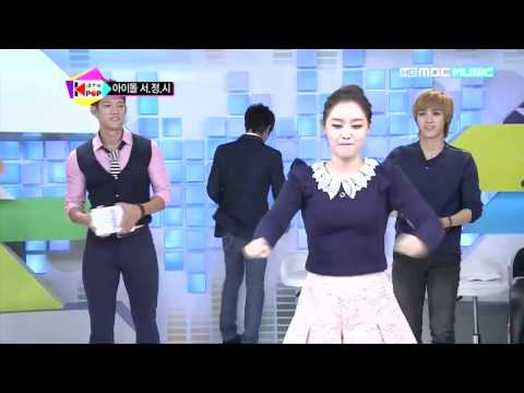 Song Jieun Popping (again) & Zinger Time 송지은 징거 121013