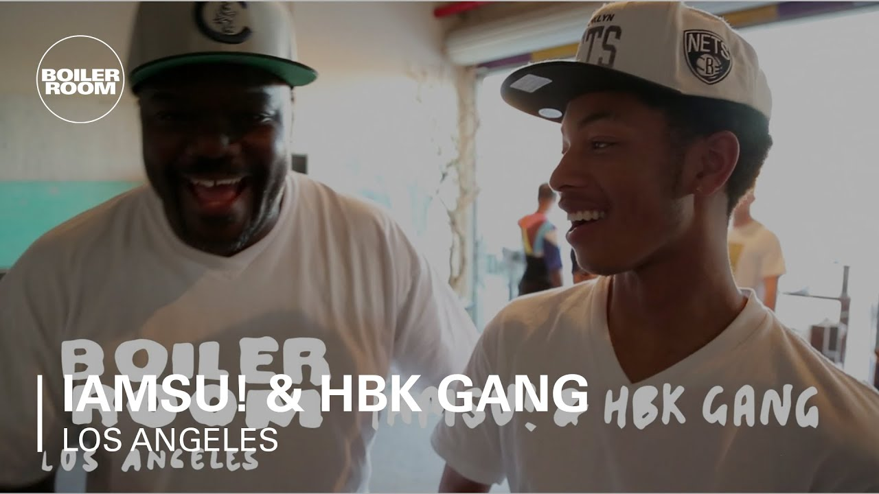 iamsu! x The HBK Gang at Boiler Room Rap Life, LA (Video)