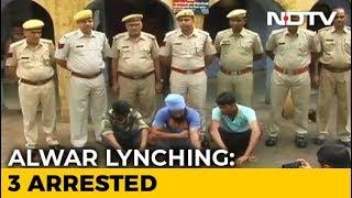3 Arrested In Rajasthan's Alwar After Man Killed For 'Cow Smuggling' - NDTV