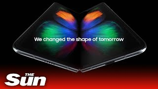 Samsung Fold reveal - THESUNNEWSPAPER