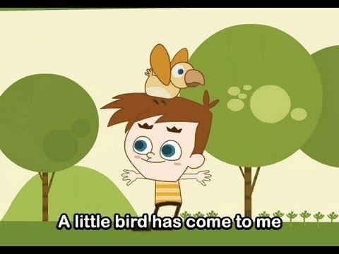Muffin Songs – Little Bird's Song  İngilizce Tekerlemeler ve İngilizce Çocuk Şarkılar