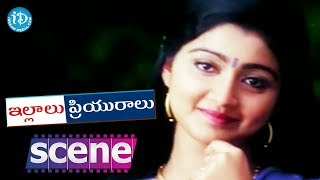 Illalu Priyuralu Movie Scenes - Divya Unni falls In Love With Venu || Venu, Divya Unni - IDREAMMOVIES