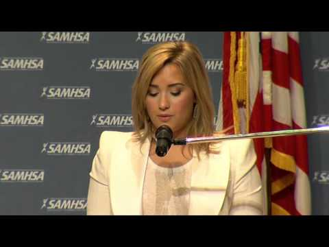Demi Lovato's speech at SAMHSA's National Children's Mental Health Awareness Day in DC 5/7/13
