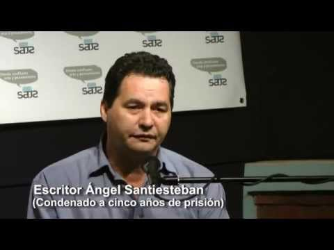 Angel Santiesteban en SATS- Cuentos de la Guerra y la Carcel en Cuba.