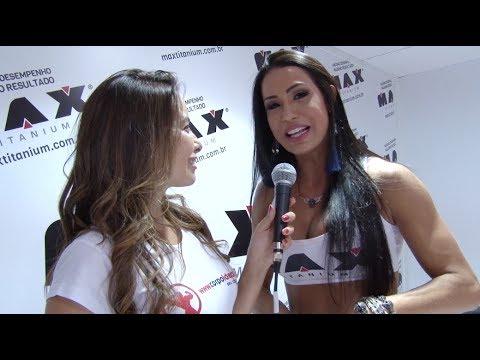 Entrevista com Gracyanne Barbosa - Arnold Classic Brasil 2014