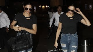Deepika Padukone heads to Bengaluru to spend the weekend with family - TIMESOFINDIACHANNEL