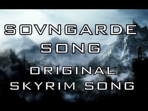 SOVNGARDE SONG - Skyrim music video by Miracle Of Sound