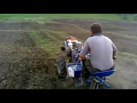 Motocultor 18 cp la frezat 2